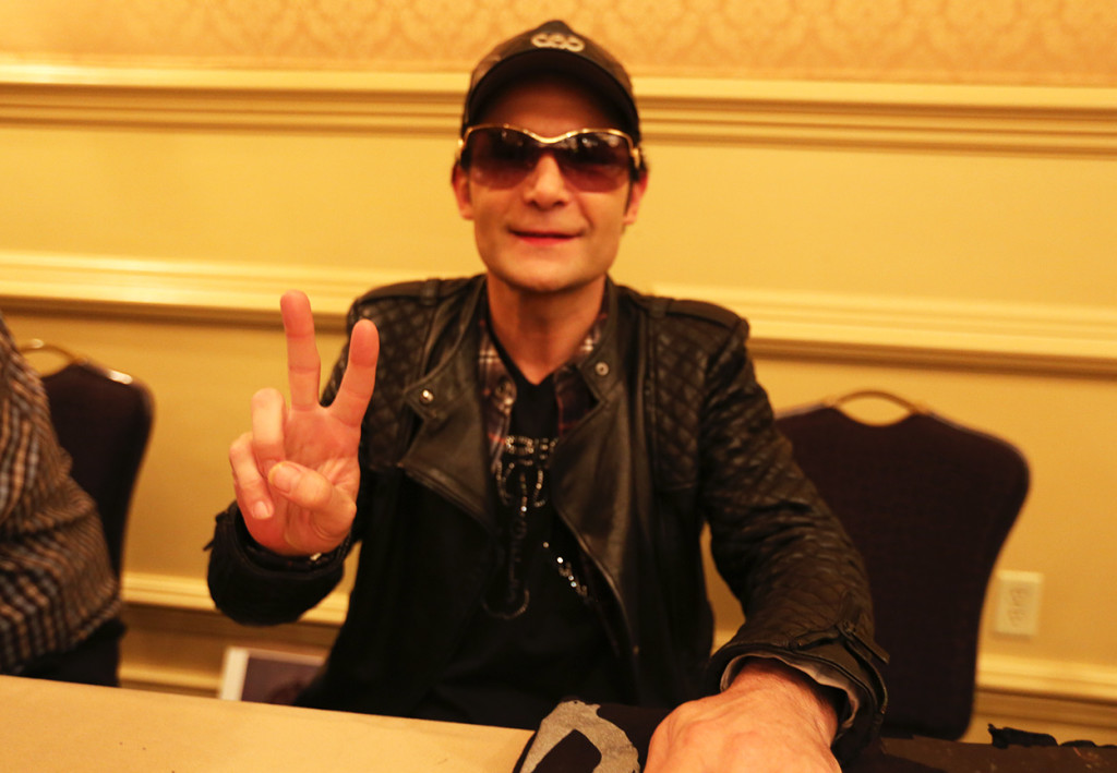 Corey Feldman at Mad Monster Party 2014 Saturday