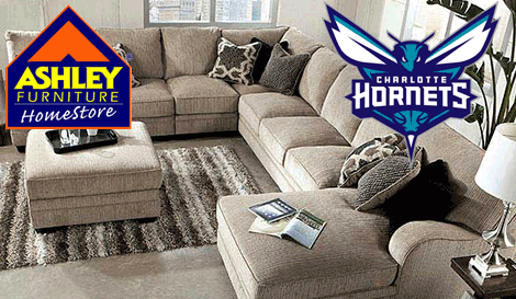 The Charlotte Hornets And Ashley Furniture HomeStore Today Announced That  The Two Organizations Have Agreed On A Multi Year Partnership That Names  Ashley ...