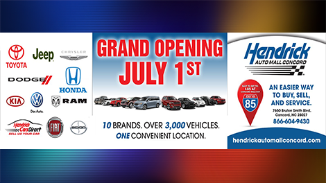 Hendrick Automotive Group This Week Officially Opened Hendrick Auto Mall  Concord, Encompassing Six Total Dealerships And 10 Manufacturer Nameplates  Located ...