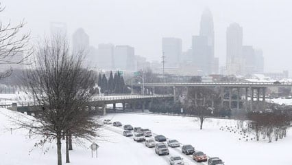 Newest Models Showing Charlotte Could Get Up To 9 Inches Of Snow Wccb Charlotte S Cw