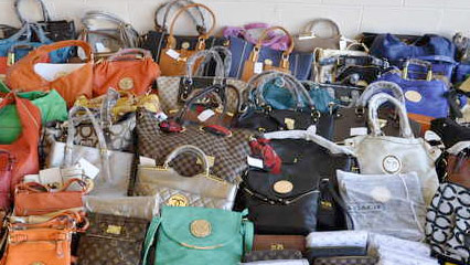 50 000 In Fake Designer Purses Seized At Local Flea Market