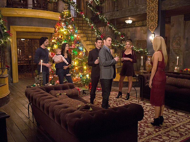 Celebrate the holidays with the Mikaelsons Thursday on the Winter Finale of The Originals at 9pm on WCCB, Charlotte's CW!