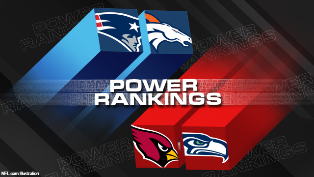 NFL.com 'Power Rankings' graphic showing the Seahawks, not the Panthers