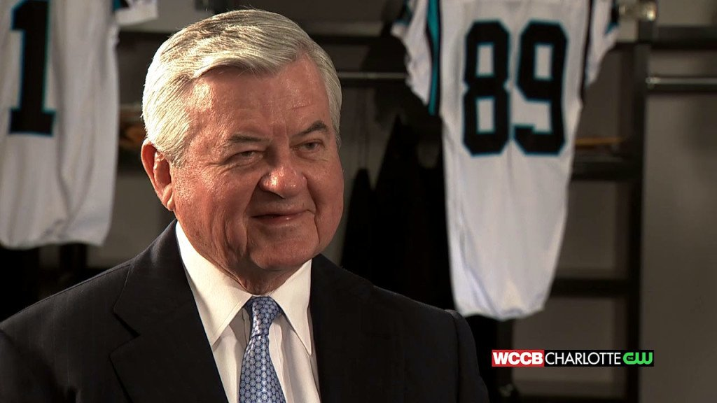 Carolina Panthers' Jerry Richardson