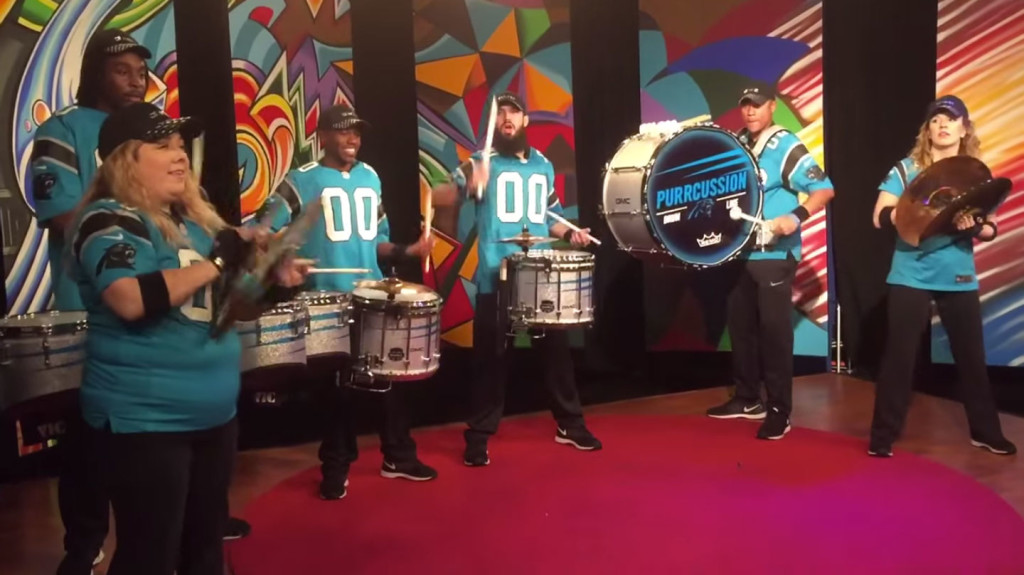 Panthers PurrCussion Drum Line