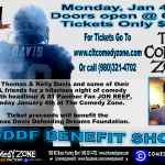 The Thomas Davis Defending Dreams Foundation Benefit at The Come