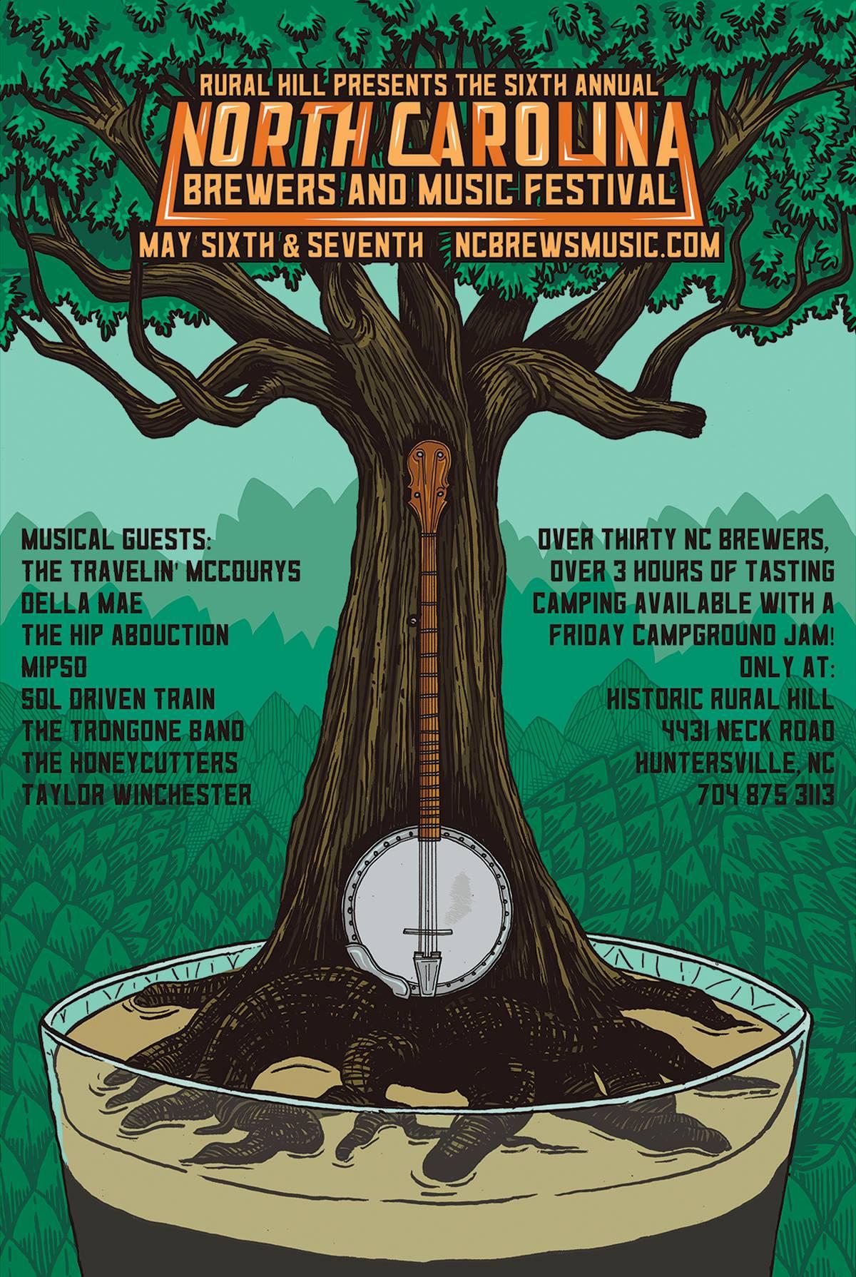North Carolina Brewers & Music Festival
