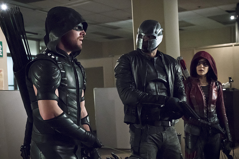 """Arrow -- """"Code of Silence"""""""
