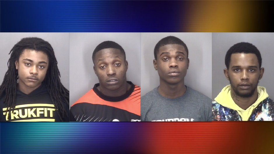 Four Arrested After Attempted Armed Robbery, One Still ...