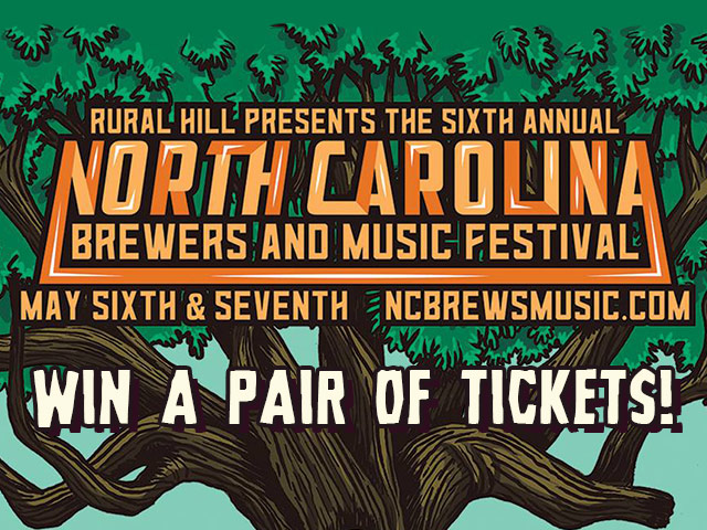 Win a pair of tickets to the NC Brewers & Music Festival