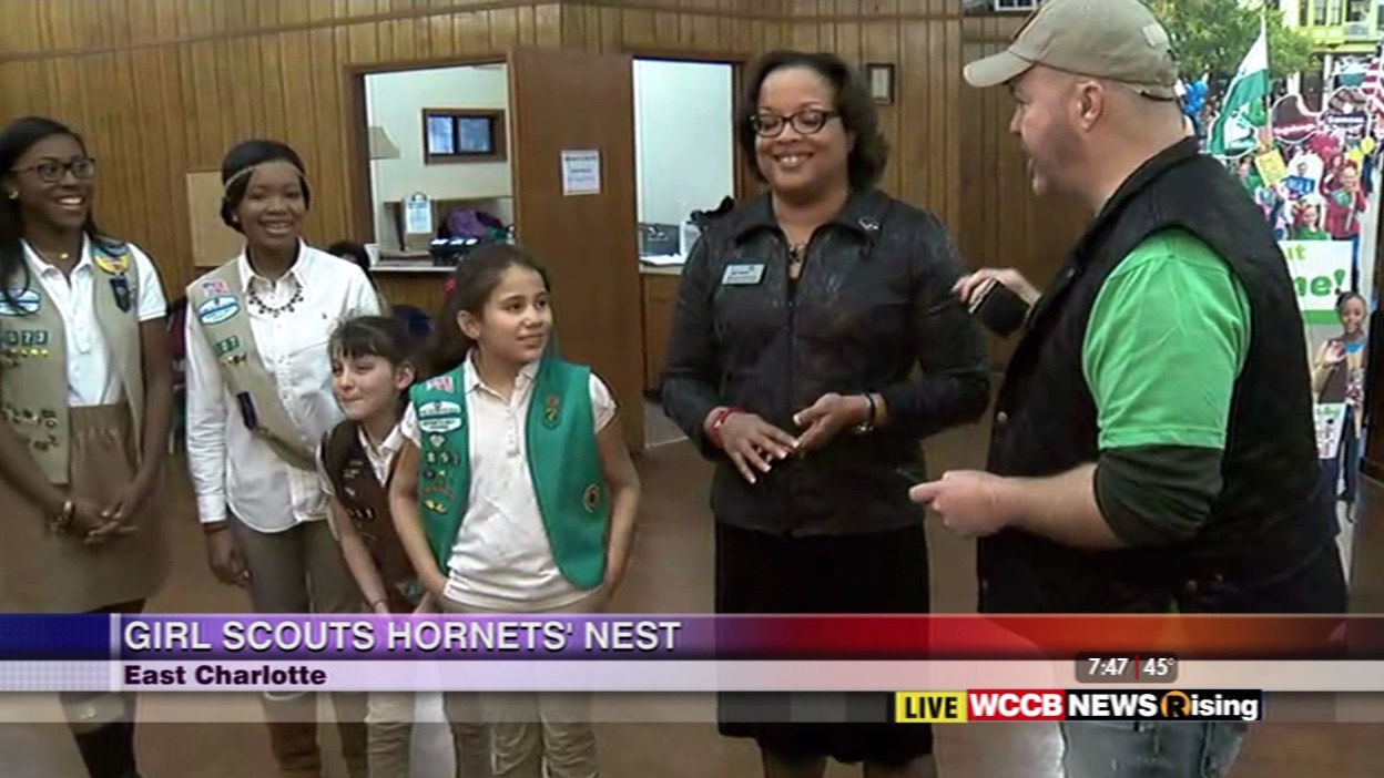 wilson s world girl scout cookie time at the hor s