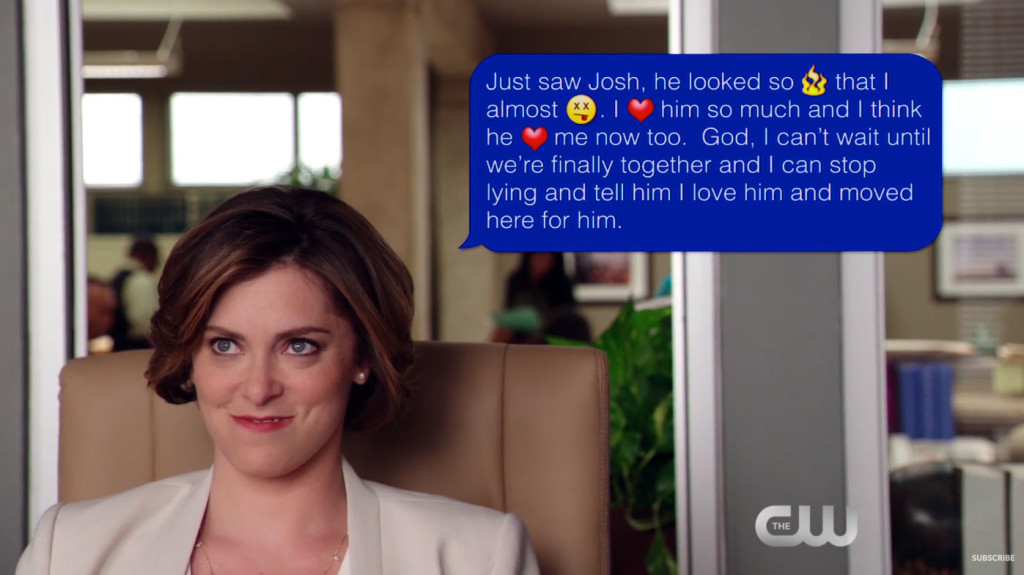 Crazy Ex-Girlfriend | That Text Was Not Meant For Josh! | The CW