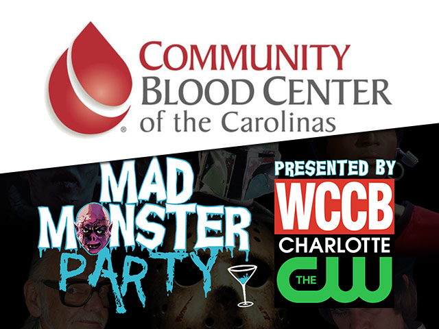Community Blood Drive At Mad Monster Party