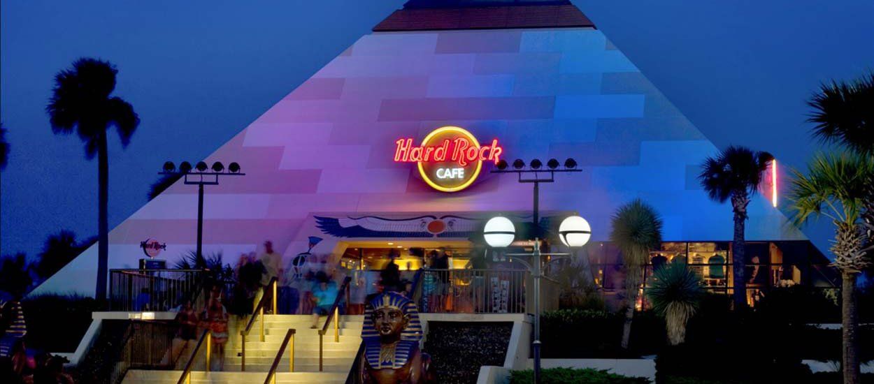 Hard Rock Cafe Pyramid In Myrtle Beach Could Be Demolished Wccb Charlotte
