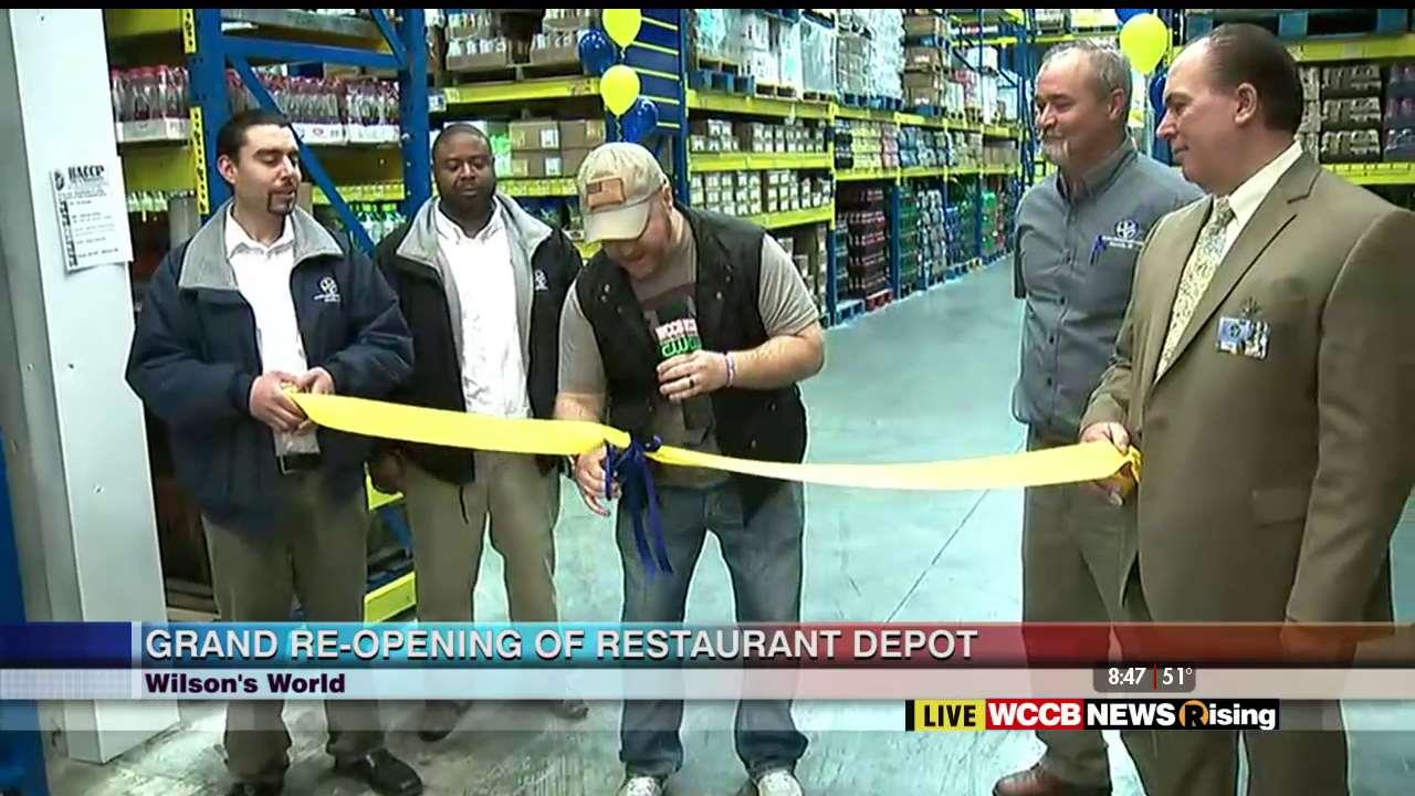 Wilson 39 S World Grand Re Opening Of The Restaurant Depot Wccb Charlotte