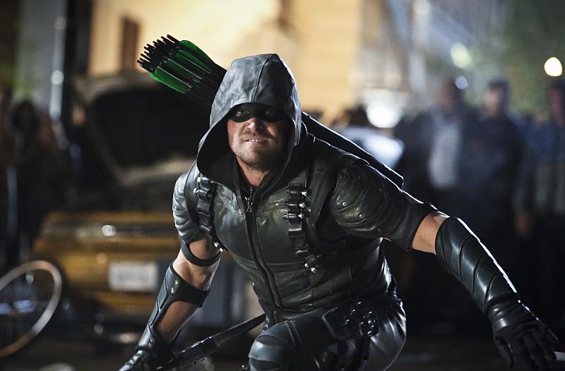 """Arrow -- """"Schism"""""""