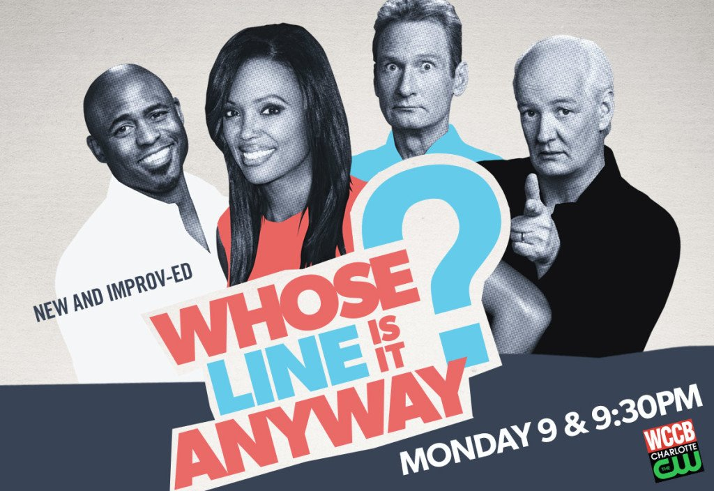 Whose Line Is It Anyway? Monday's 9 & 9:30PM