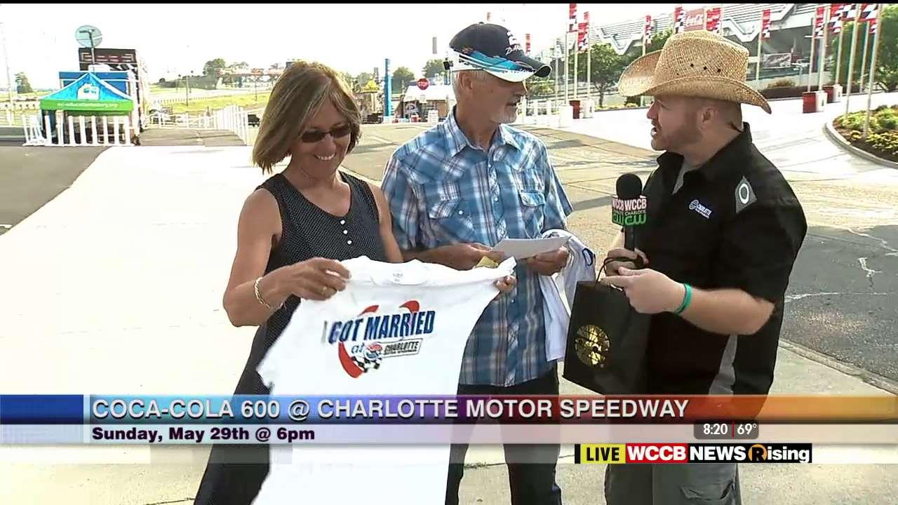 Wilson 39 s world enjoying the fun leading up to the coca for Ride along charlotte motor speedway