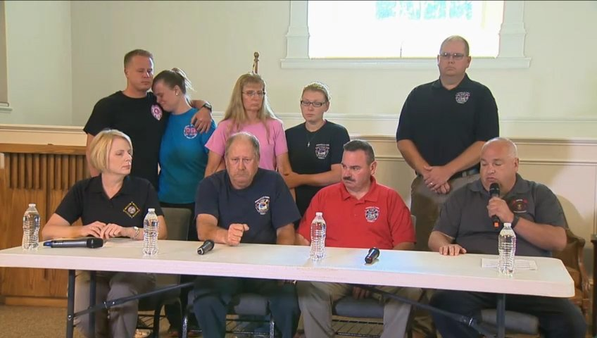 News Conference On Diver Who Died In Lake Norman Search