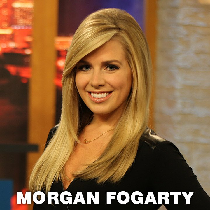 Morgan Fogarty on WCCB News @ Ten & Edge