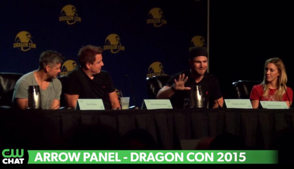 CW CHAT BONUS: Stephen Amell Talks Sleeveless Arrow Suit