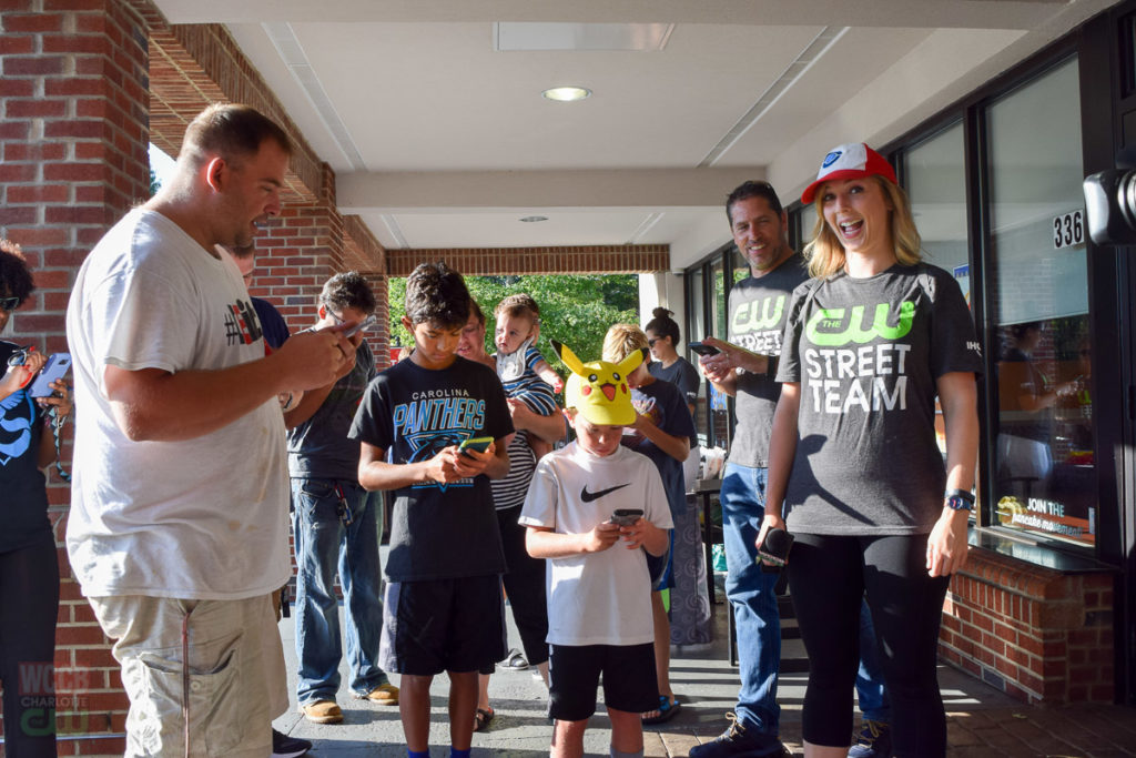 Pokémon GO Meet-Up with the CW Street Team at IHOP, Cotswold Village