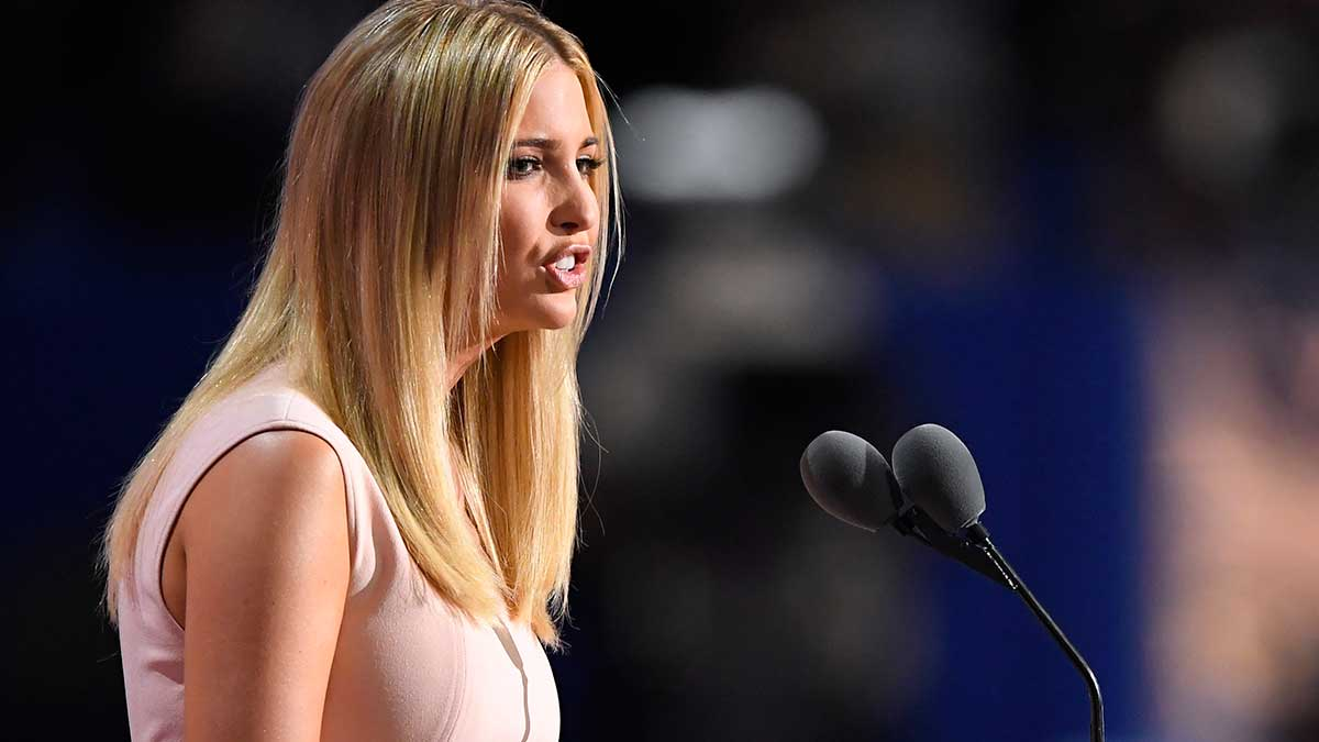 Daughter Ivanka Trump Raises Issues Father Rarely Mentions ...