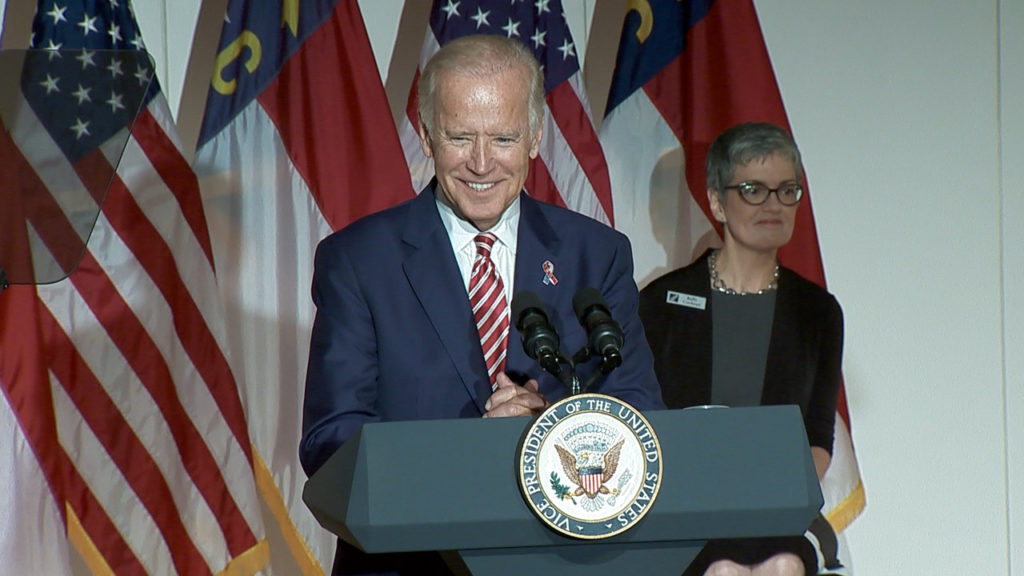 Vice President Joe Biden at Central Piedmont Community College