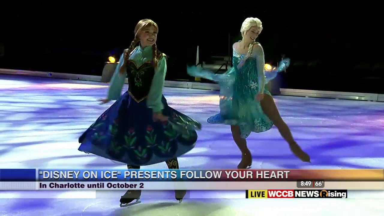 wilsons world disneys follow your heart hits the ice at twc arena wccb charlotte