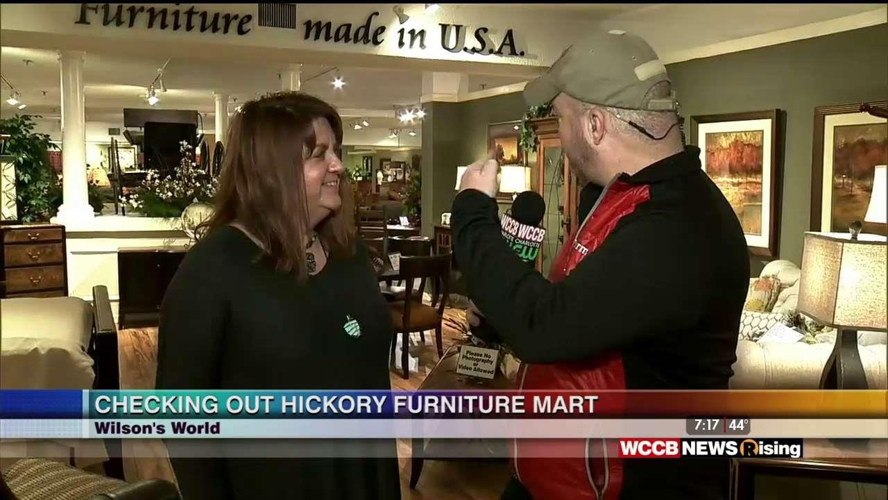 Wilson 39 S World Furniture Shopping At Hickory Furniture Mart Wccb Charlotte
