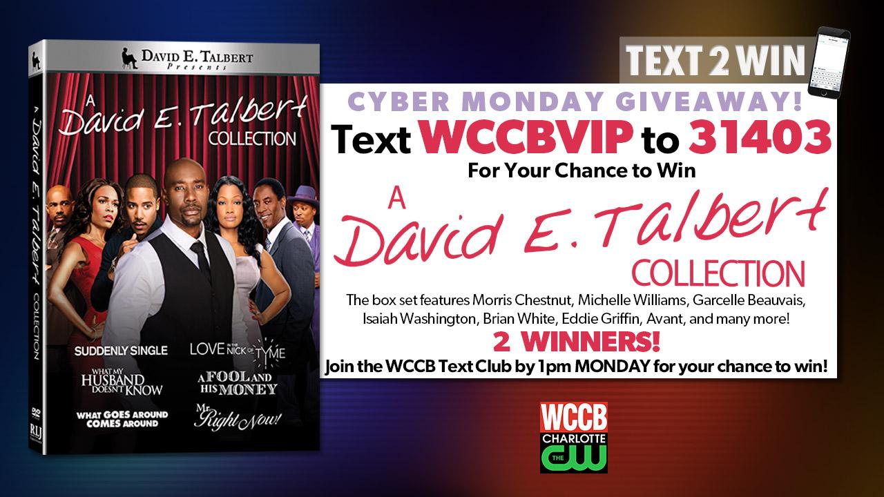 David E Talbert Collection Text2win Header