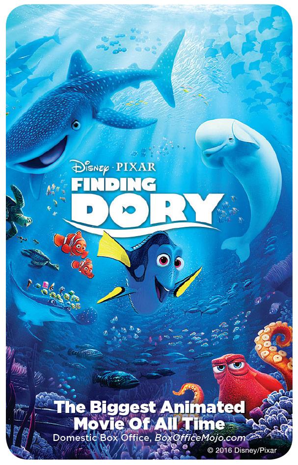 Win a digital download of Disney Pixar's Finding Dory