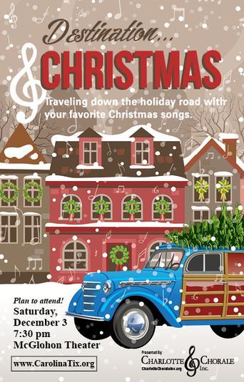Charlotte Chorale Destination Christmas