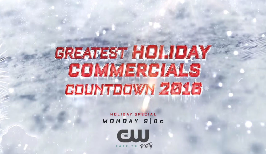 Greatest Holiday Commercial Countdown | The CW