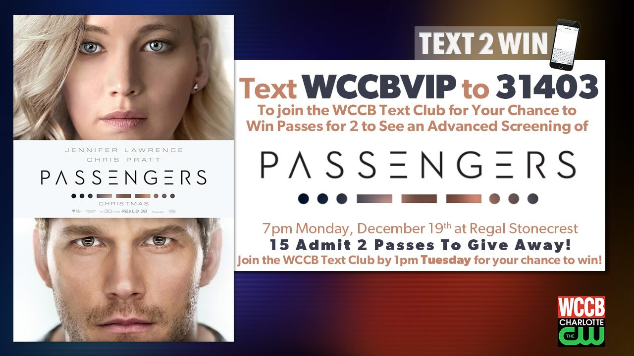 Win passes to a prescreening of Passengers