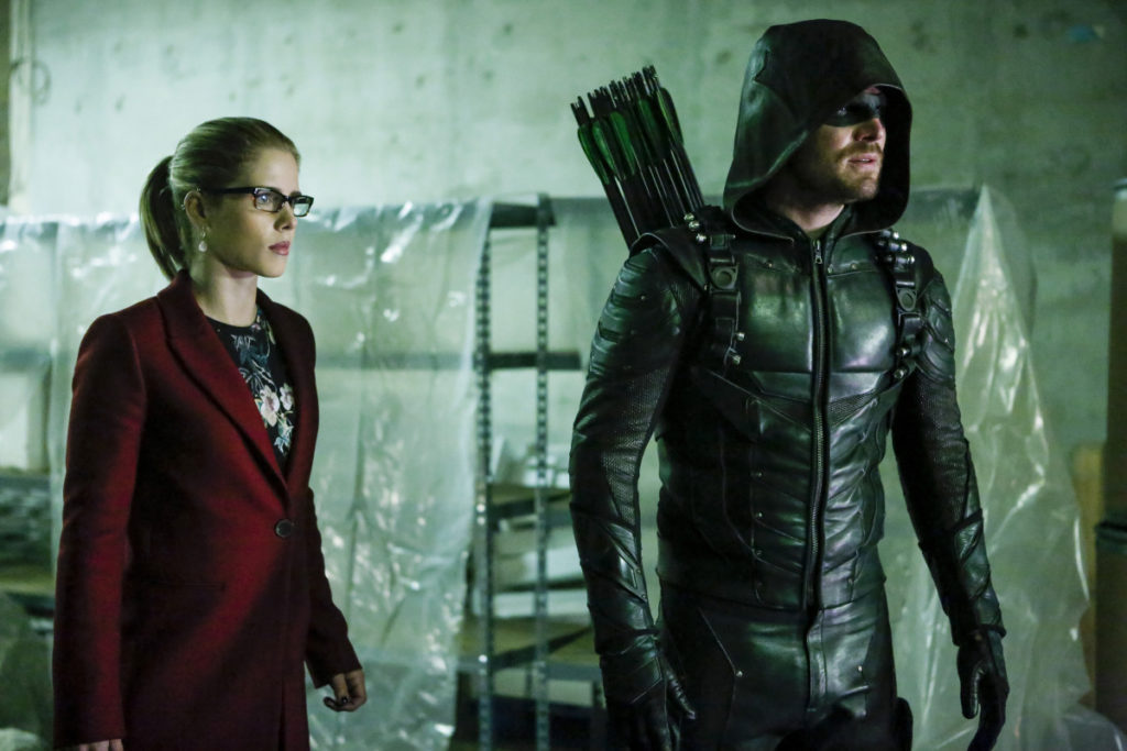"Arrow -- ""Who Are You?"""