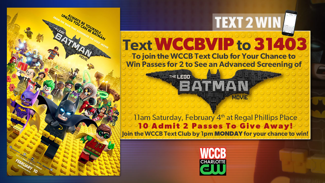 Win passes to an advanced screening of The Lego Batman Movie