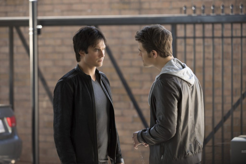 "The Vampire Diaries -- ""We Have History Together"""