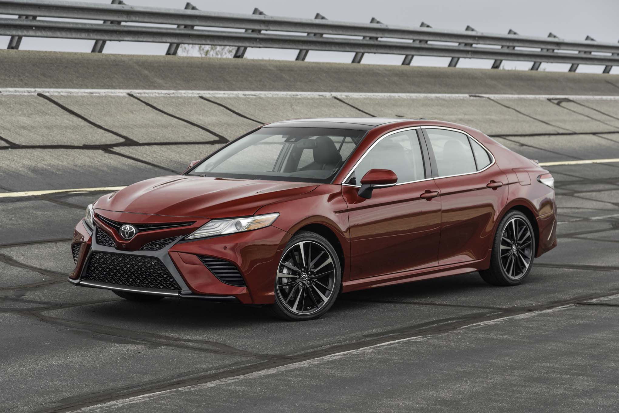 Get a sneak preview of the 2018 Toyota Camry