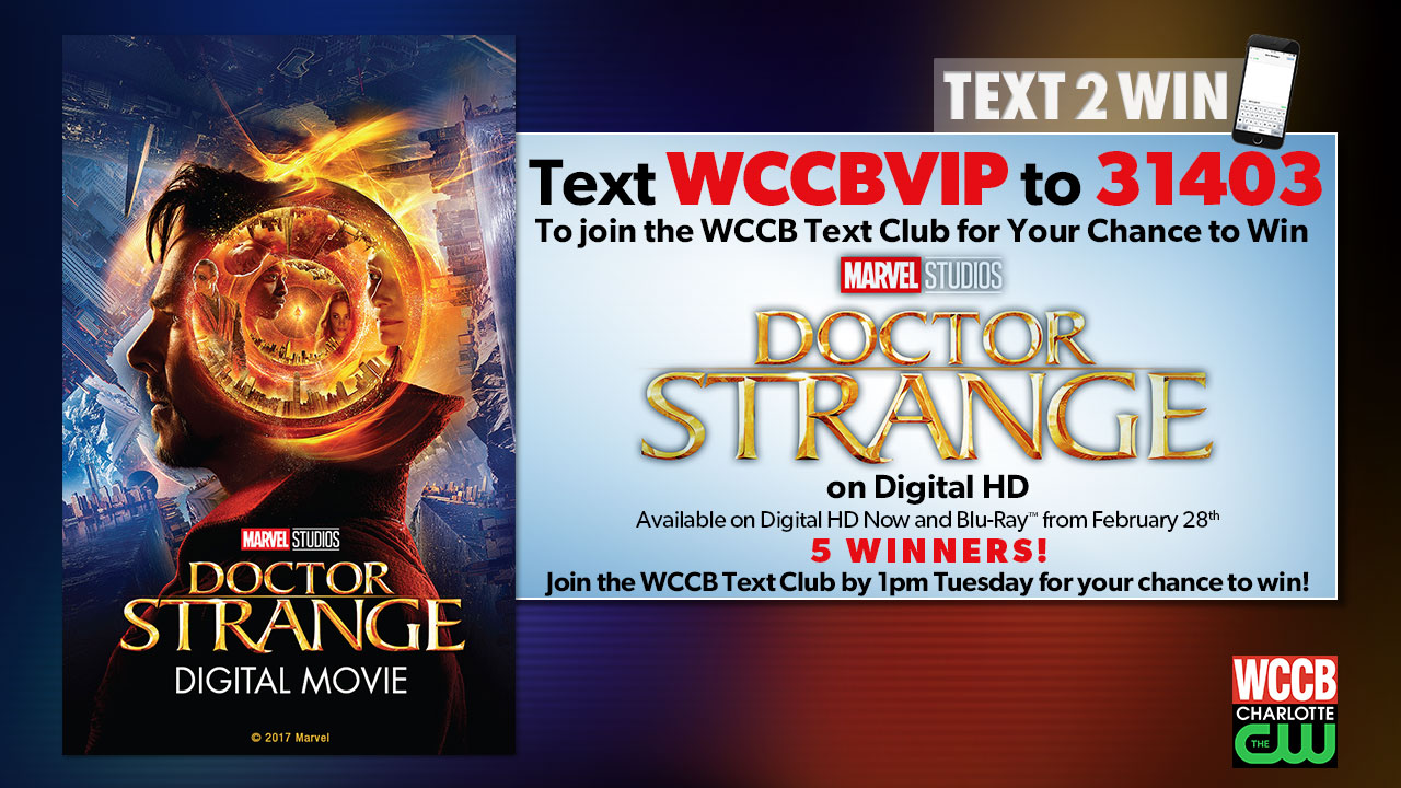 Win Doctor Strange from WCCB, Charlotte's CW
