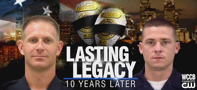 Lasting Legacy: 10 Years On. Remembering officers Jeff Shelton and Sean Clark