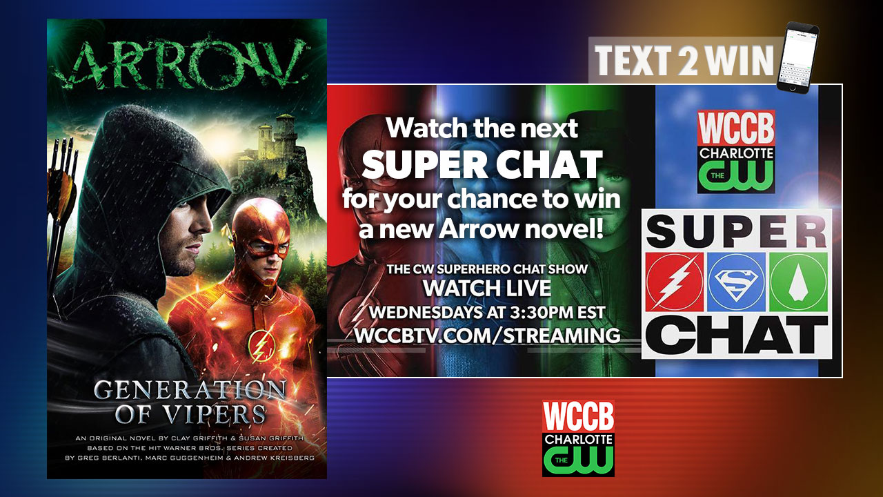 Win 'Arrow - A Generation of Vipers' from WCCB, Charlotte's CW