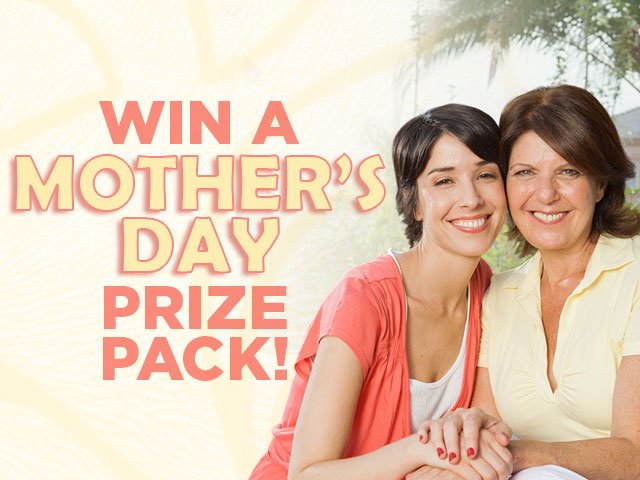 Win a Mother's Day prize pack worth over $2000 from WCCB, Charlotte's CW!