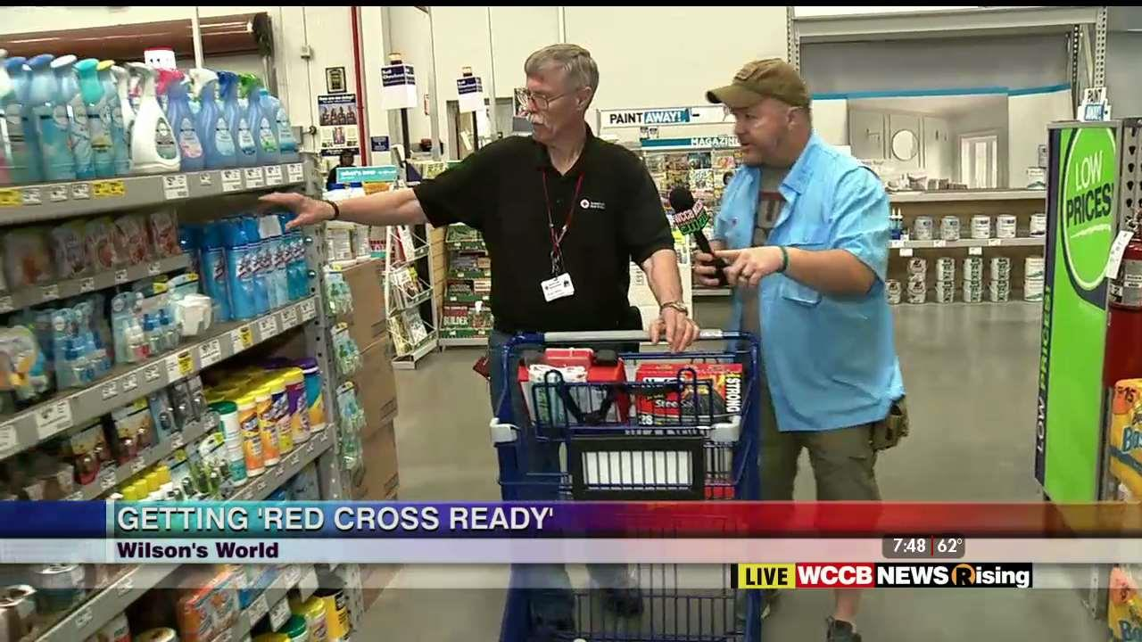 Wilson s World Getting Red Cross Ready at Lowe s WCCB