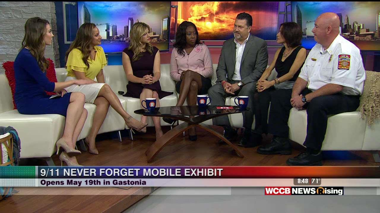 Nissan Of Gastonia >> Gastonia Nissan Talks About 9/11 Never Forget Mobile Exhibit - WCCB Charlotte