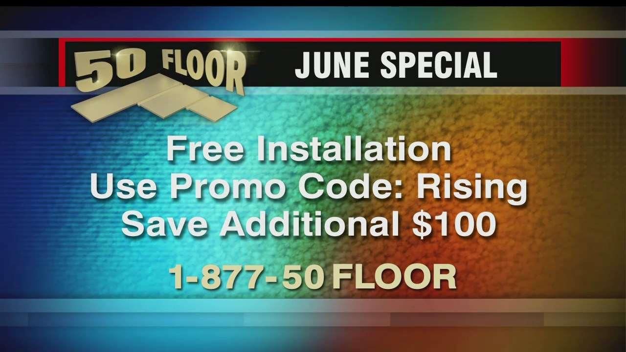 Take Advantage Of The 50 Floor June Special Of Free