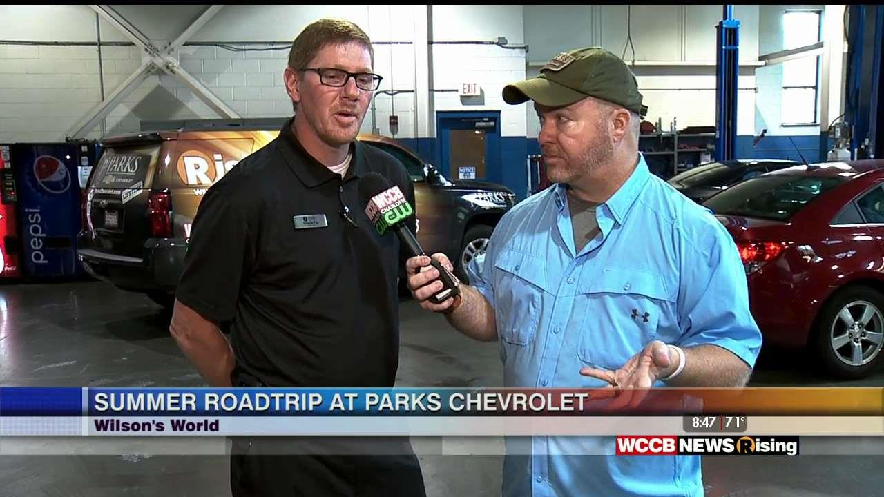 Wilsonu0027s World: Getting Your Car Vacation Ready At Parks Chevrolet In  Huntersville   WCCB Charlotte