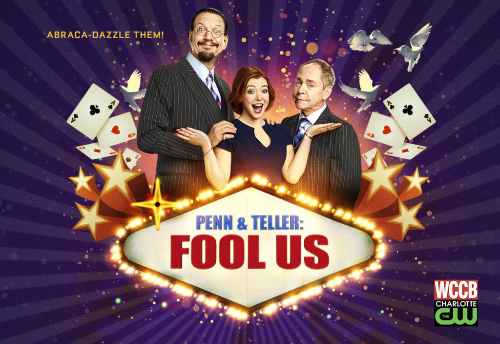Penn and Teller: Fool Us on WCCB, Charlotte's CW