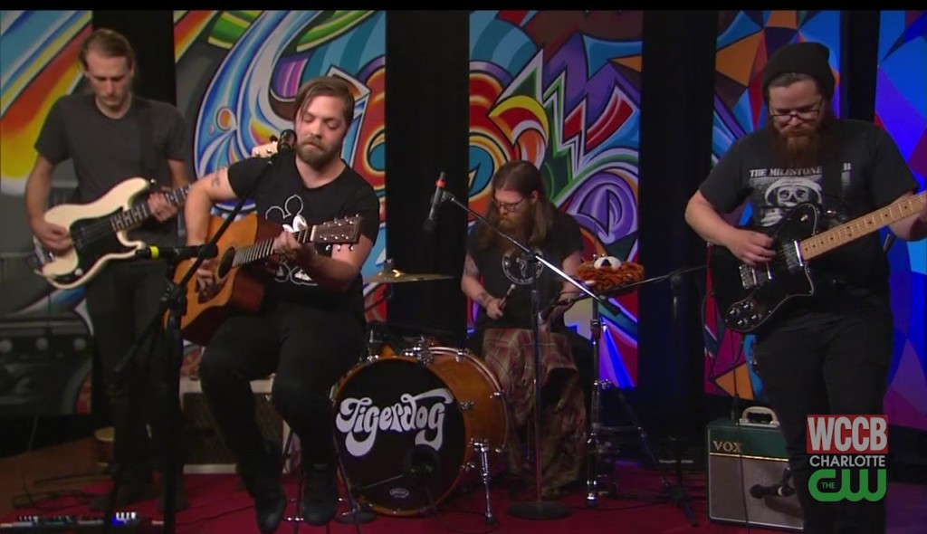 "Tigerdog play ""Seriously"" at WCCB, Charlotte's CW"