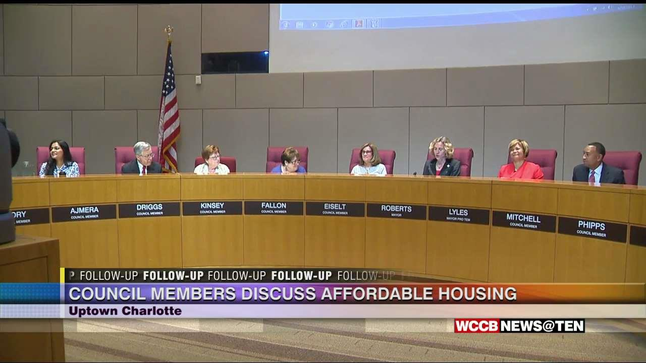City Council Members Discuss Affordable Housing Issues At ...